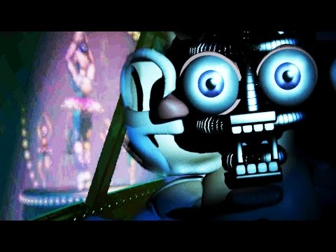Five Nights at Freddy's Sister Location NIGHT 1 & 2 || WAKING THE FUNTIME ANIMATRONICS!