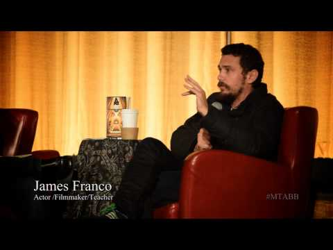 James Franco on how to handle criticism