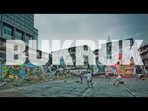 Bukruk Street Art Festival: Thai-Europe connection