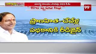 Ground Report On Kaleshwaram Project   #KCR   Telangana   99 TV