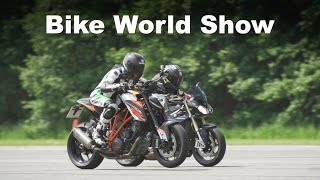 Supernaked Group Test 2016 - MT-10 vs. S1000R vs. 1290 Superduke R vs. Speed Triple R | S.13 Ep.5