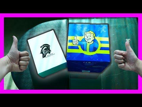 МОЯ ДЕВУШКА ОТКРЫВАЕТ - Fallout 76 LootCase и Kojima Case ИЗ АМЕРИКИ (Лучшие коробки)
