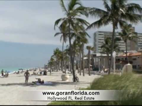 Hollywood FL, Broadwalk &amp; BEACH