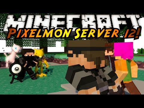 Minecraft Pixelmon Server : PSYCHIC GYM FRENZY!
