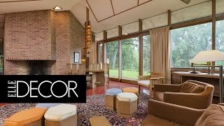 An Untouched Frank Lloyd Wright Home from 1960 is on the Market   ELLE Décor