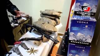 ضبط كميات من المخدرات والأسلحة في الإسماعيلية