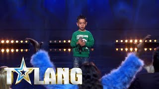 Five year old rapper amazes the jury of swedish Talent 2018