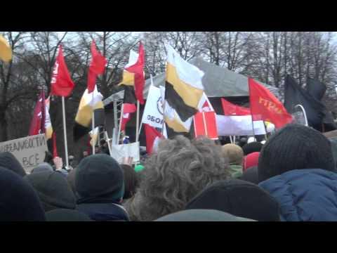 Выступление Немцова на митинге в Петербурге