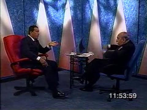LEGADO DEL CMDTE. Chávez entrevistado por Yanez sobre Constitución 15-DIC-1999