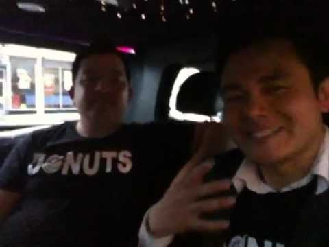 National Donut Day: Adrian Zaw and Tony's Limo Ride to KTLA 5
