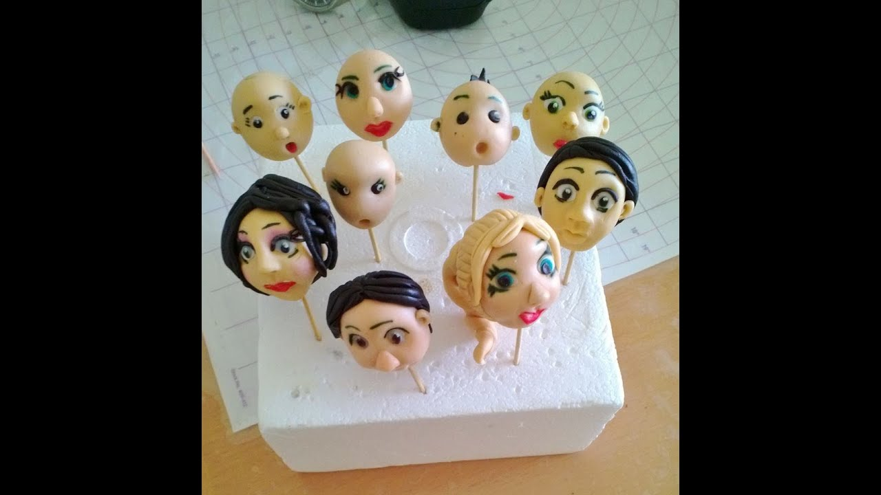 Sugar Paste Figures For Cakes