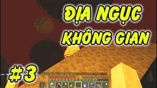 Địa Ngục Ngoài Không Gian Như Thế Nào - Minecraft Sinh Tồn Vũ Trụ #3
