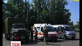 Реанімобіль та автобус для перевезення особового складу передали волонтери Львівщини - (видео)