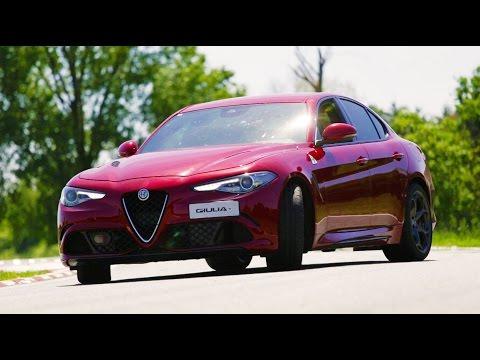 Alfa Romeo Giulia Quadrifoglio - Inserito da Davide Cironi il 30 maggio 2016 durata 13 minuti e 41 secondi - Davide e Giulia si incontrano finalmente sulla pista di Balocco con un carico di aspettative e arroganza che si abbatter� tutto sulle gomme posteriori.