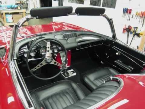 1962 Corvette Installing New Dash By Pauls Custom