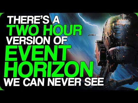 There's A Two Hour Version Of Event Horizon We Can Never See (My Halloween Costume)