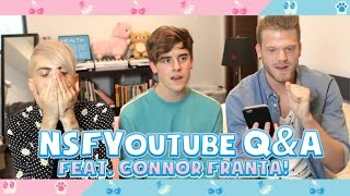 NOT SAFE FOR YOUTUBE Q&A (feat. Connor Franta!)