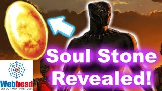 The Soul Stone Is In Black Panther Theory! Where Is The last Infinity Stone In The MCU?   Webhead