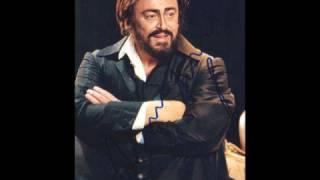 Luciano Pavarotti Video - Luciano Pavarotti: A te o cara (rare an very well)*****