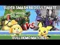 SUPER SMASH BROS ULTIMATE FULL DEMO GAMEPLAY AT FLORIDA MALL WITH WIZZY