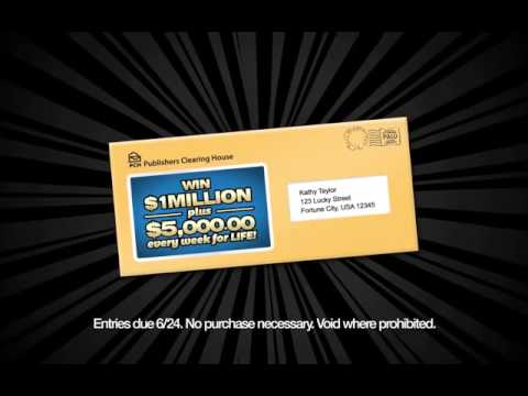 PCH announces no one will win a million a year for life prize