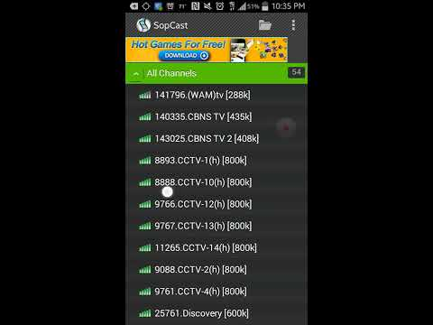 Sopcast for android