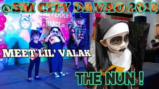 SM CITY DAVAO CELEBRATES HALLOWEEN FOR KIDS    HAVE A MONSTERRIFIC TIME    LITTLE VALAK