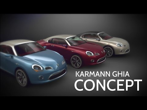Karmann-Ghia Coupe 2013 Concept by Renan Carlos Oliveira (2nd Place)
