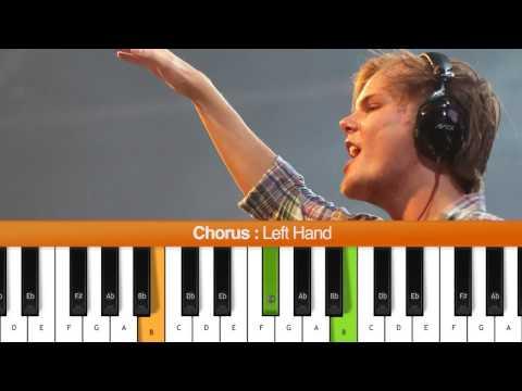 How To Play you Make Me (avicii) Piano Tutorial   Chords video