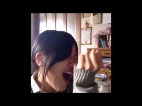【吹いたら負け】面白すぎる女子高生おおぜきれいか Vine動画集その6!~reika oozeki~
