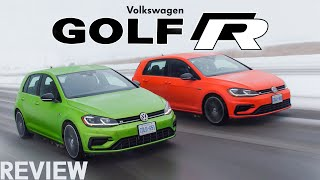 2018 VW Golf R Review - Manual vs DSG