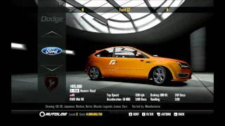Need For Speed: SHIFT 2 Unleashed - Full Car List HD
