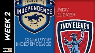 Charlotte Independence vs Indy Eleven: March 15th, 2019