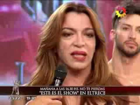 Pampita explotó como nunca antes y se enfureció con Tinelli: Vos me tenés que defender