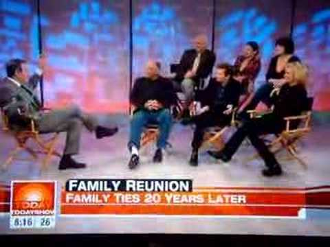 Family Ties Reunion 2008 Today Show