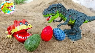 🐉 Find the eggs for the tycoon dinosaur 🐉Child Toy H621P Toy