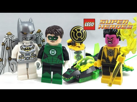 LEGO Green Lantern vs Sinestro set review! 76025