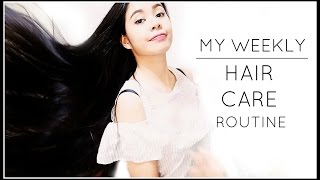 My Weekly Hair Care Routine 2017-Beautyklove