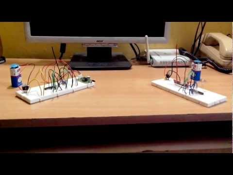Wireless Communication Using 433 MHz RF Modules with Atmega328/Arduino