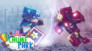 Minecraft: GUERRA CIVIL! (Chume Park #8)