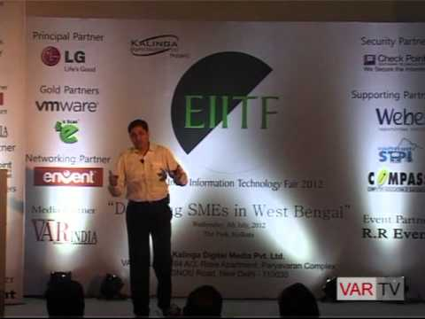 Rajeev Keshri, Enterprise Account Manager-East, VMware Software India Pvt. Ltd on EIITF