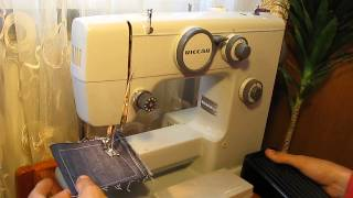 Sewing machine Швейная машина Riccar 528 test