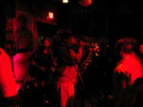 Dirty Dozen Brass Band,  at Preservation Hall, Alto Trumpet