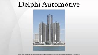 Welcome to Delphi Automotive