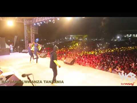 Rayvanny live performance in Mwanza fiesta 2017
