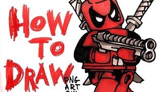 download lagu How To Draw Lego Deadpool gratis