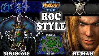 Grubby | Warcraft 3 TFT | 1.30 | UD v HU on Turtle Rock - Roc Style