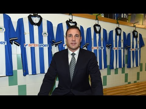 MALKY MACKAY NEW WIGAN ATHLETIC MANAGER - THE FIRST INTERVIEW