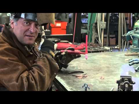 How to Weld Copper to Steel for Art - Kevin Caron