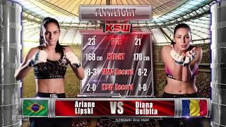 KSW Free Fight: Ariane Lipski vs Diana Belbita at KSW 39